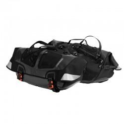 Ortlieb coppia Borse per bicicletta recumbent 54 litri posteriore  nero