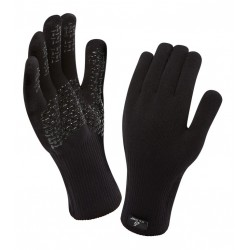SealSkinz Ultra grip gloves guanti traspiranti ed impermeabili nero