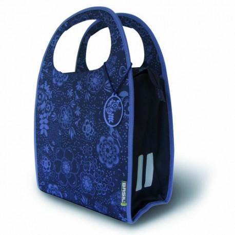 Basil Jada-Mirte flower borsa posteriore  blue fiorito