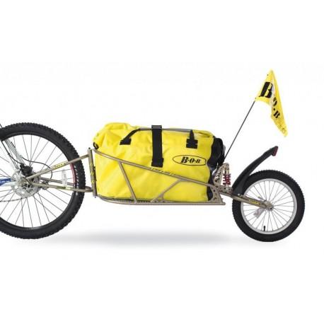 """BOB trailer IBEX 28"""" carrello rimorchio per bicicletta"""