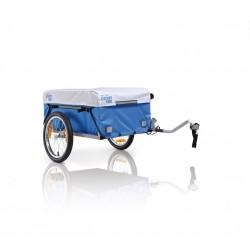 XLC Carry Van BS-L01 rimorchio portaoggetti per bicicletta grigio/azzurro