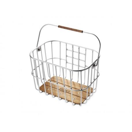 Brooks Hoxton Wire Basket cestino anteriore in alluminio