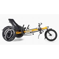 Hasebikes TRIX triciclo per ragazzi non pieghevole giallo