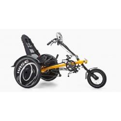 Hasebikes TRETS REH triciclo tandem per ragazzi  giallo