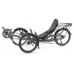 """HP Velotechnik Scorpion fs 20""""/20"""" triciclo ammortizzato Blue grigio"""