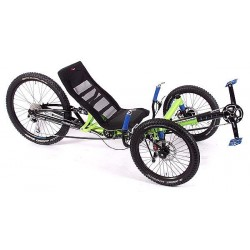 """HP Velotechnik Scorpion fs Enduro 20""""/26"""" triciclo ammortizzato verde"""