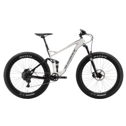 """Silverback SYNERGY FAT 26"""" bicicletta biammortizzata fatbike bianco"""