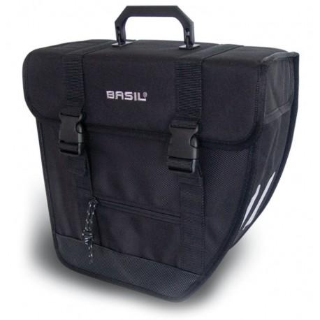 Basil Tour single R borsa posteriore singola nero