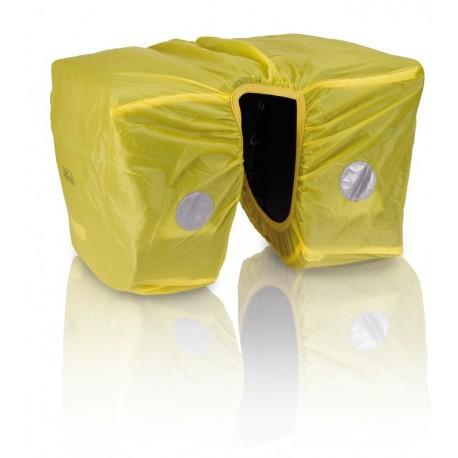 XLC BA-X03 telo antipioggia per borse a bisaccia posteriori giallo