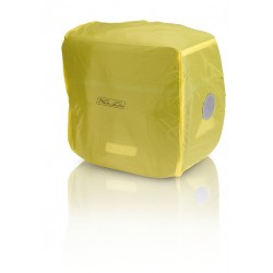 XLC BA-X05 telo antipioggia per borsa singola posteriore giallo