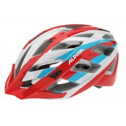 Alpina Panoma casco taglia 52-57 rosso argento blue