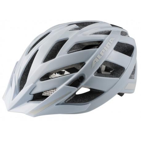 Alpina Panoma City casco taglia 56-59 bianco opaco riflettente