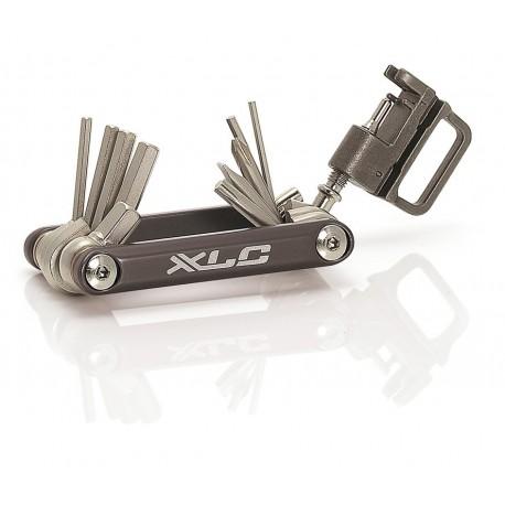 XLC TO-M07 multitools chiavi multi attrezzo grigio