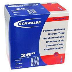 "Schwalbe SV13J camera d'aria 26"" FAT valvola Presta"
