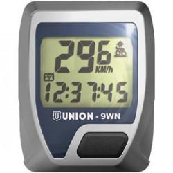 Union 9WN Ciclo computer a 9 funzioni senza filo argento