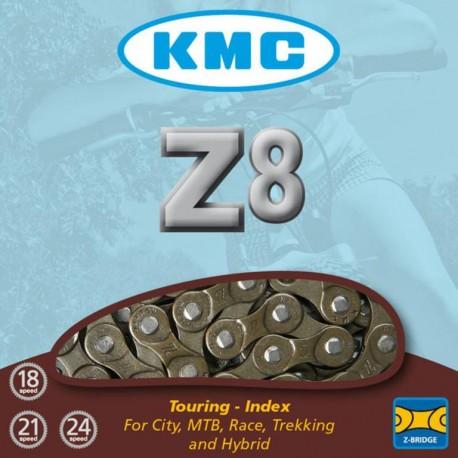 KMC Z8 catena per 7/8 velocità marrone