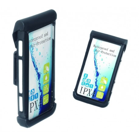 XON XBT-25 porta smartphone da manubrio nero