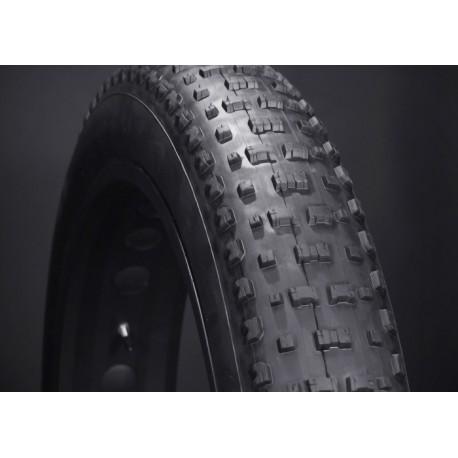 """VEE TIRE Snowshoe copertone pieghevole Fat bike da 26""""x4,5"""" nero"""