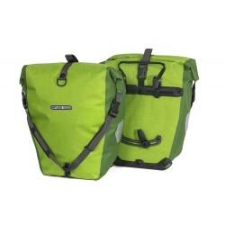 Ortlieb coppia borse posteriori Back Roller Plus verde Lime