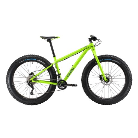 "Silverback SCOOP FATTY 26"" bicicletta fatbike lime"