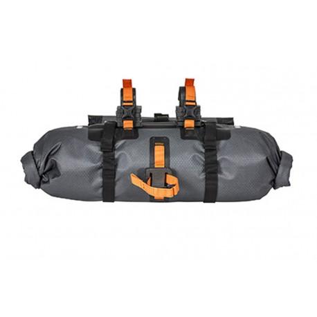 Ortlieb Handlebar-Pack bikepacking da manubrio antracite nero
