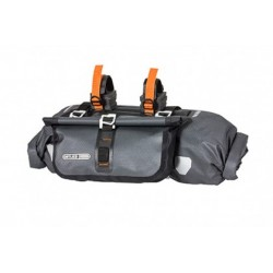 Ortlieb Accessory-Pack bikepacking da manubrio antracite nero