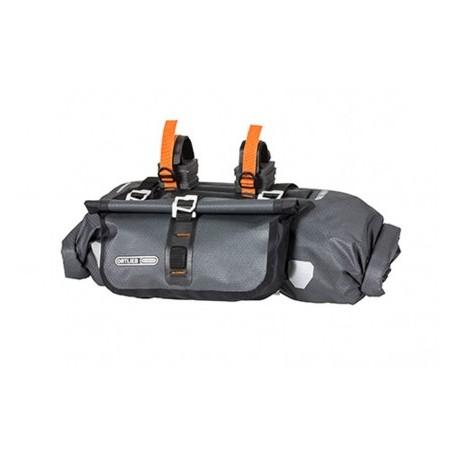 Ortlieb Accessory-Pack bikepacking da manubrio antracite nero