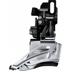 Shimano Deragliatore Deore Down Swing FD-M618D6, Dual Pull,66-69° nero