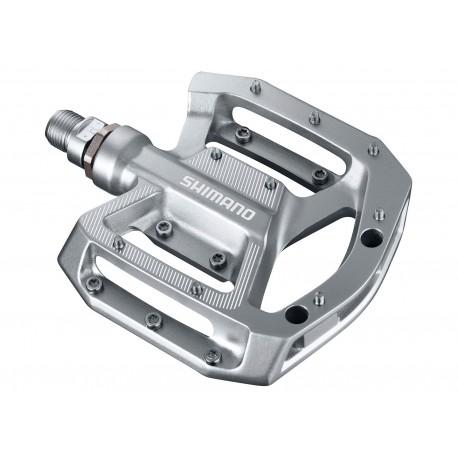 Shimano pedali a piattaforma PD-GR500 argento