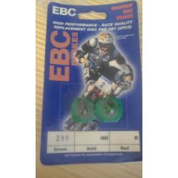Pastiglie freno disco EBC Formula MD1