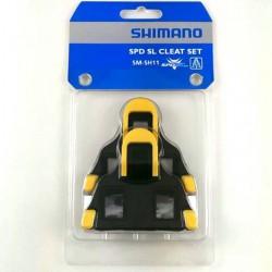 Shimano tacchette per scarpe SPD-SL giallo/nero