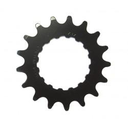 Miche Bosch pignione E-bike 18 denti in acciaio nero