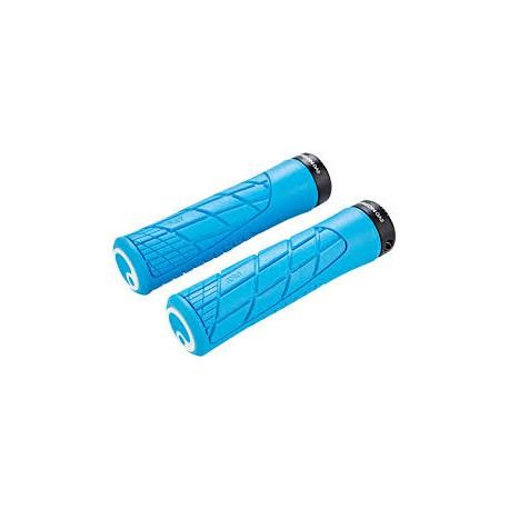 Ergon manopole GA2 FAT azzurro