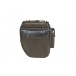 Brooks Devon borsa da portapacchi canvas idrorepellente e pelle sinistra