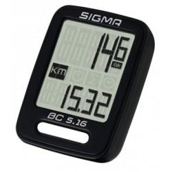 Ciclocomputer Sigma BC 5.16 con filo