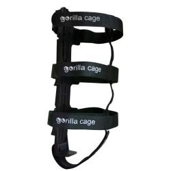 Gorilla Cage portatutto da forcella e telaio nero