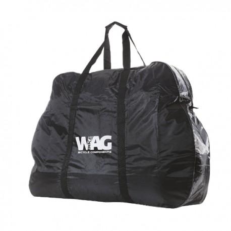 WAG Borsa portabici 150x95x30 cm nero