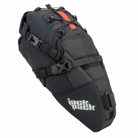 JACKPACK borsa sottosella Ultra Tobolek 2.0 9 litri nero
