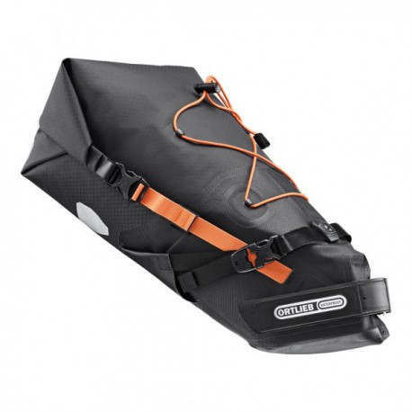 Ortlieb Seat-Pack borsa sottosella 11 litri per bicicletta nero opaco 2021