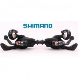 Shimano set leve cambio Alivio ISLMC20PA 3x8 velocità nero