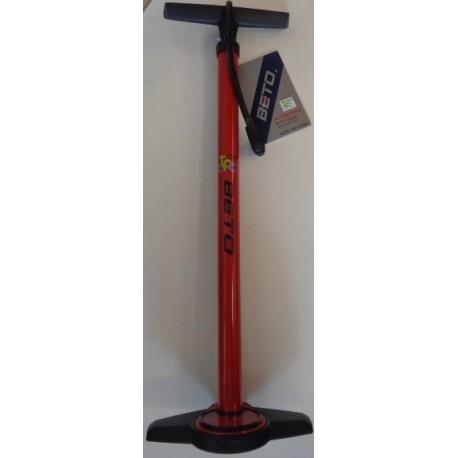 Beto pompa con manometro CMP-1355G5 rosso