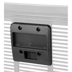 RixenKaul Klickfix piastre di fissaggio dei cestini